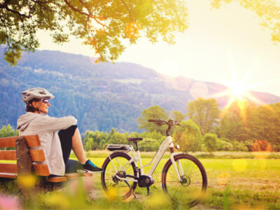 Mit Blobber ist jede Radtour entspannend